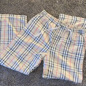 AUTHENTIC BURBERRY PJ